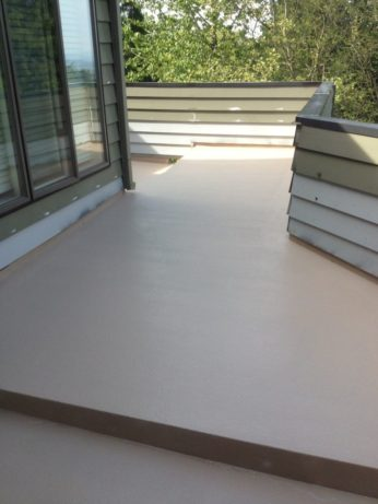 Waterproof Wrap Around Deck